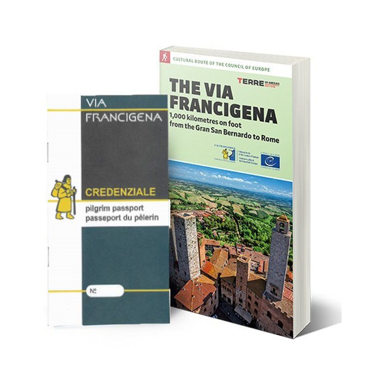 "Pilgrim Passport + Guide ""The Via Francigena"" english version"